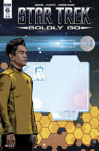 Image: Star Trek: Boldly Go #6 (subscription cover - Tony Shasteen) - IDW Publishing