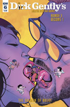 Image: Dirk Gently's Holistic Detective Agency: The Salmon of Doubt #6 - IDW Publishing