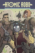 Image: Atomic Robo Vol. 11: The Temple of Od SC  - IDW Publishing