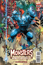 Image: Monsters Unleashed #5  [2017] - Marvel Comics