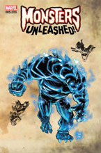 Image: Monsters Unleashed #5 (variant Monster cover - Kubert)  [2017] - Marvel Comics