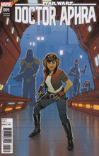 Image: Star Wars: Doctor Aphra #5 (variant cover - Quinones) - Marvel Comics