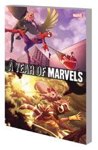 Image: A Year of Marvels SC  - Marvel Comics