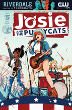 Image: Josie and the Pussycats Vol. 02 #5 (cover A - Audrey Mok)  [2017] - Archie Comic Publications