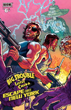 Image: Big Trouble in Little China / Escape from New York #6 (subscription cover - Browne)  [2017] - Boom! Studios