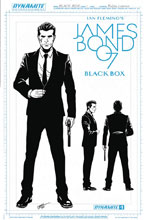 Image: James Bond Vol. 02 #1 (Lobosco Artboard incentive cover - 01061) (10-copy) - Dynamite