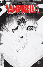 Image: Vampirella Vol. 04 #1 (Tan b&w incentive cover - 01071) (20-copy) - Dynamite