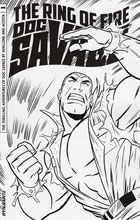 Image: Doc Savage: The Ring of Fire #1 (Anthony Marques b&w incentive cover - 01041)  [2017] - Dynamite