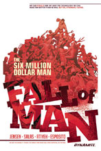 Image: Six Million Dollar Man: Fall of Man SC  - Dynamite
