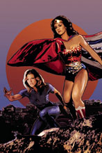 Image: Wonder Woman '77 Meets the Bionic Woman #4 (Cat Staggs incentive cover - 04031) - Dynamite