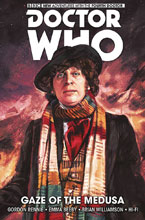Image: Doctor Who: The Fourth Doctor: Gaze of the Medusa SC  - Titan Comics
