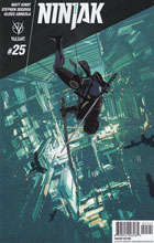 Image: Ninjak #25 (cover D incentive - Freeman) (20-copy) - Valiant Entertainment LLC