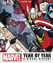 Image: Marvel Year by Year: A Visual History - Update and Expanded HC  - DK Publishing Co