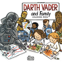 Image: Darth Vader and Family Coloring Book  - Chronicle Books