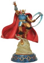 Image: Marvel Milestones Statue: Armored Thor  - Diamond Select Toys LLC