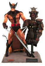 Image: Marvel Select Special Collector Edition Action Figure: Brown Uniform Wolverine  - Diamond Select Toys LLC