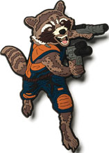 Image: Marvel Mega Magnets: Guardian of the Galaxy 2 - Rocket Racoon  - Popfun Merchandising LLC