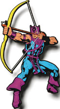Image: Marvel Mega Magnets: Hawkeye  - Popfun Merchandising LLC