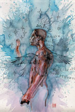 Image: American Gods: My Ainsel #1 (variant cover - David Mack)  [2018] - Dark Horse Comics