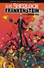 Image: Sherlock Frankenstein and the Legion of Evil SC  - Dark Horse Comics