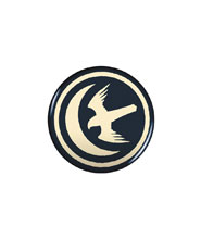 Image: Game of Thrones Button: Arryn  - Dark Horse Comics