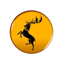 Image: Game of Thrones Button: Baratheon  - Dark Horse Comics
