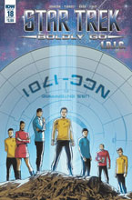 Image: Star Trek: Boldly Go #18 (cover A - Hood) - IDW Publishing