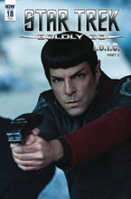 Image: Star Trek: Boldly Go #18 (incentive cover - Yoshi Yoshitani) (25-copy) - IDW Publishing