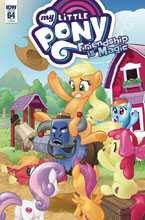 Image: My Little Pony: Friendship Is Magic #64 (incentive cover - Tony Kusisto) (10-copy)  [2018] - IDW Publishing