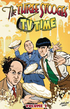 Image: The Three Stooges Vol. 02 SC  - American Mythology Productions