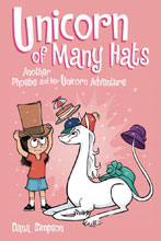 Image: Phoebe and Her Unicorn Vol. 07: Unicorn of Many Hats SC  - Amp! Comics For Kids