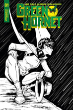 Image: Green Hornet Vol. 02 #1 (cover F incentive - Ihde B&W) (20-copy) Incv  [2018] - Dynamite