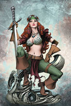 Image: Legenderry Red Sonja Vol. 02 #2 (cover C incentive - Benitez Virgin) (20-copy)  [2018] - Dynamite