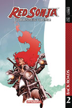 Image: Red Sonja: Worlds Away Vol. 02: Back Roads SC  - Dynamite