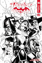 Image: Shadow / Batman #6 (cover G incentive - Peterson B&W) (20-copy) - Dynamite