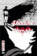 Image: Shadow / Batman #6 (cover H incentive - Fornes B&W) (30-copy) - Dynamite