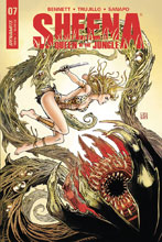 Image: Sheena: Queen of the Jungle #7 (cover B - Duursema) - Dynamite
