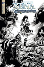 Image: Xena: Warrior Princess Vol. 04 #2 (cover D incentive - Cifuentes Virgin Art) (20-copy) - Dynamite
