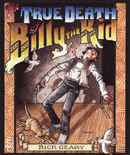 Image: True Death of Billy the Kid HC  - NBM