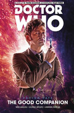Image: Doctor Who: The Tenth Doctor Facing Fate Vol. 03: The Good Companion HC  - Titan Comics