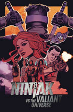 Image: Ninjak vs. the Valiant Universe #3 (cover A - Smallwood)  [2018] - Valiant Entertainment LLC