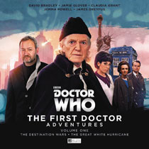 Image: Doctor Who: The First Doctor Adventures Vol. 01 CD  - Big Finish