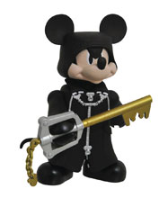 Image: Kingdom Hearts Series 2 Vinimate: Org XIII Mickey  - Diamond Select Toys LLC