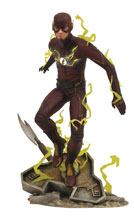 Image: Flash CW Gallery PVC Statue: Flash  - Diamond Select Toys LLC