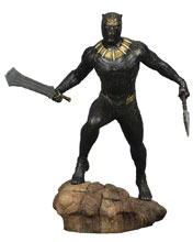 Image: Marvel Gallery Black Panther Movie PVC Statue: Killmonger  - Diamond Select Toys LLC