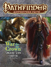 Image: Pathfinder Adventure Path: War for the Crown Part 2 of 6 - Songbird, Scion, Saboteur SC  - Paizo Inc