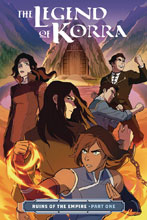 Image: Nickelodeon The Legend of Korra: Ruins of Empire Vol. 01 SC  - Dark Horse Comics
