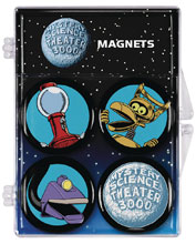 Image: Mystery Science Theater Magnet Set  - Dark Horse Comics