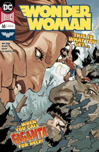 Image: Wonder Woman #66 - DC Comics
