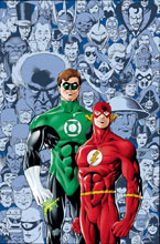 Image: Flash & Green Lantern: The Brave & The Bold Deluxe Edition HC  - DC Comics